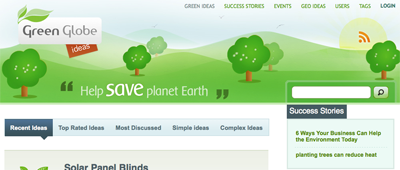 Green Globe Ideas